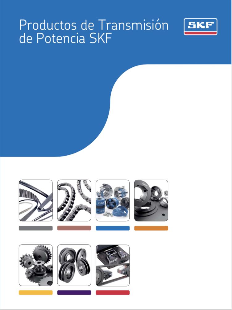 Catálogo de productos de transmisión de potencia, skf